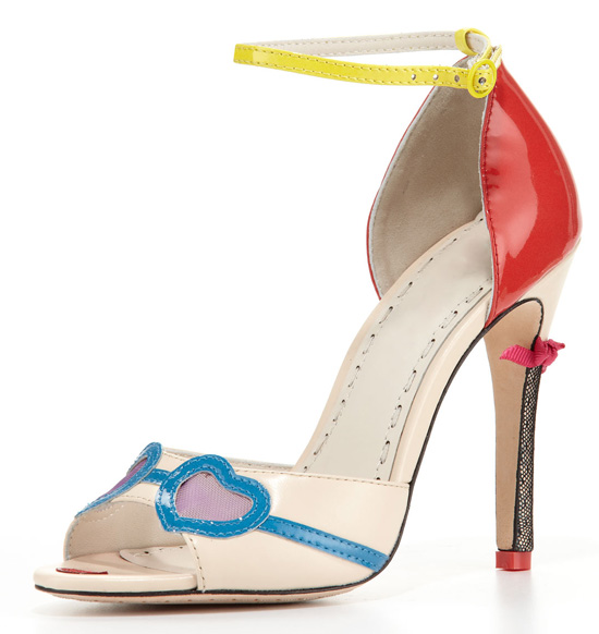 Alice + Olivia 'Stacey' face sandals