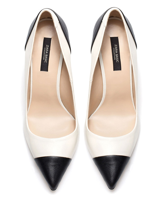 two-tome court shoes