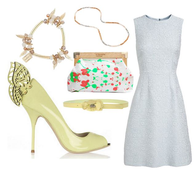 what to wear with butterfly shoes