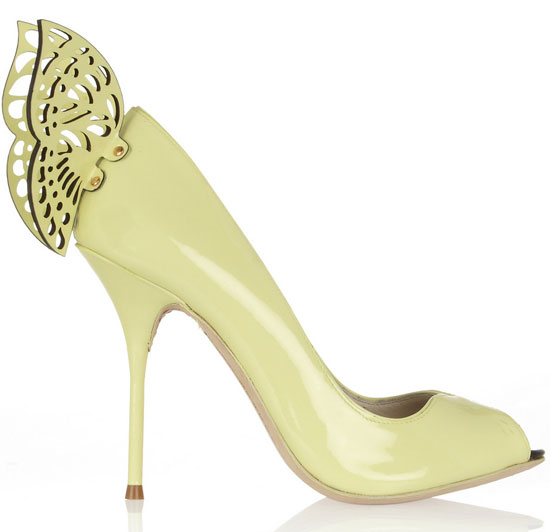 Sophia Webster butterfly heel shoes