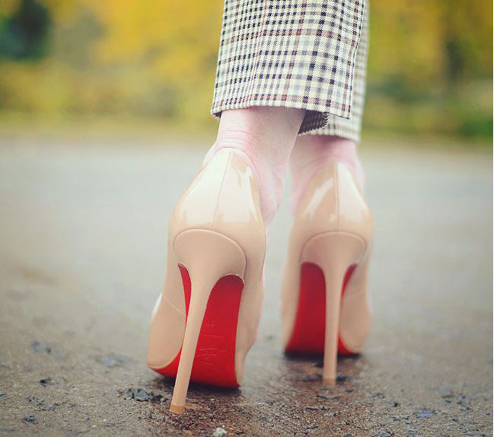 replica christian louboutin shoes cheap - What to wear with Christian Louboutin Pigalle 120 nude pumps
