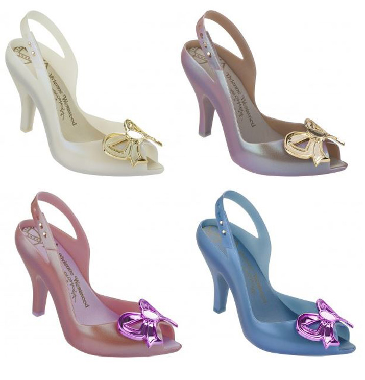 Melissa Vivienne Westwod Lady Dragon Aurora bow shoes