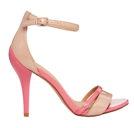 nude and pink sandals