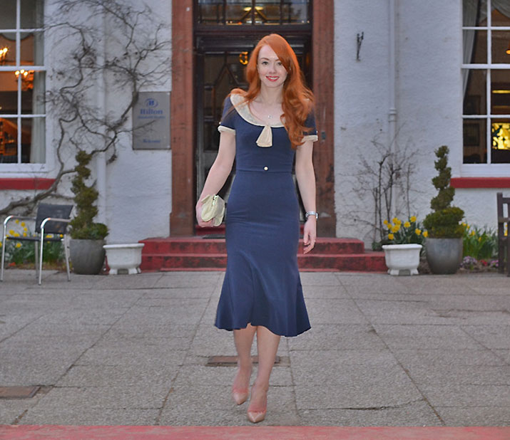 Christian Louboutin Pigalle 120 and Stop Staring dress