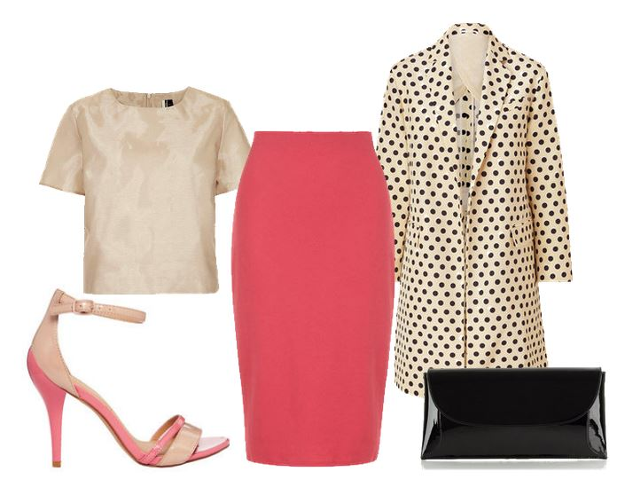 what to wear with pink sandals