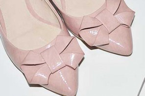 Shoe Review | Belmondo 'Ambra' pink bow slingbacks
