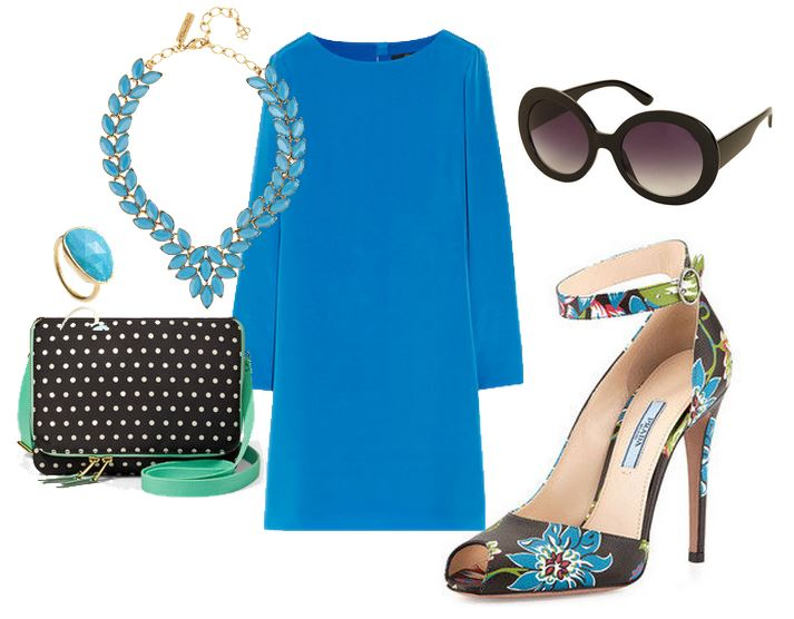 what to wear with prada floral sandals