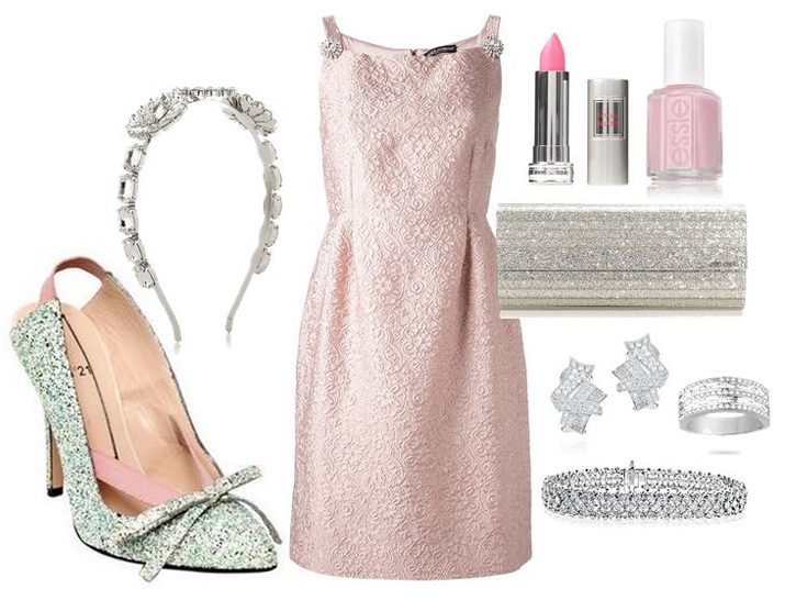 what to wear with silver glitter shoes