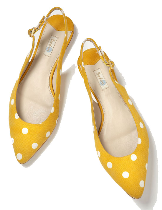 What to wear with boden pointed slingbacks s s 2014 for Boden yellow