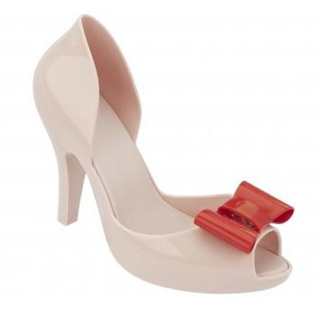 Mel 'Dreamed' bow peep toes