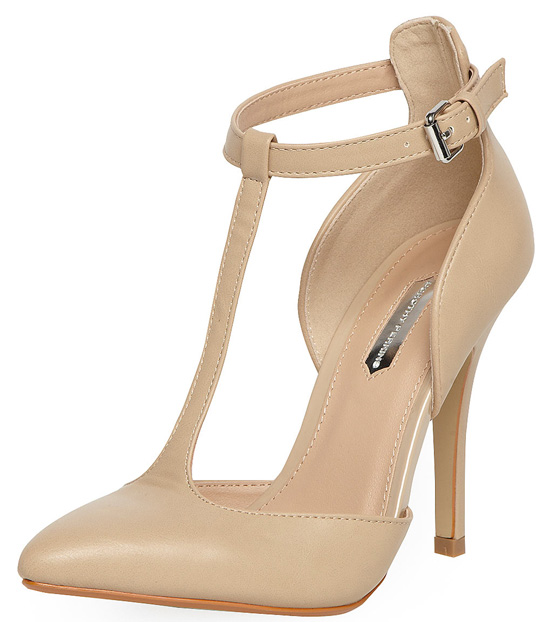 nude shoes by Dorothy Perkins