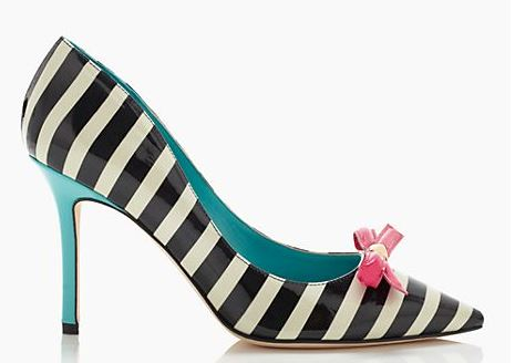 kate spae 'pietra' stripe pumps