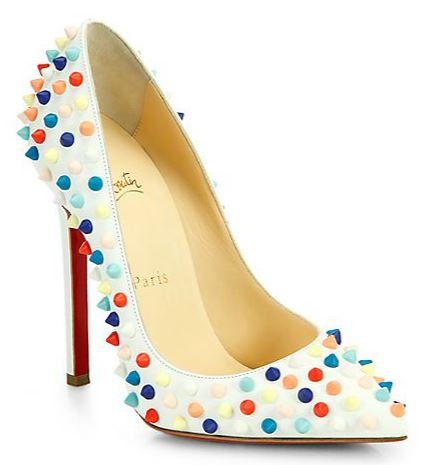 pretty nice 818a6 df0f0 Friday Fix | Christian Louboutin Pigalle 120 Multicolor ...