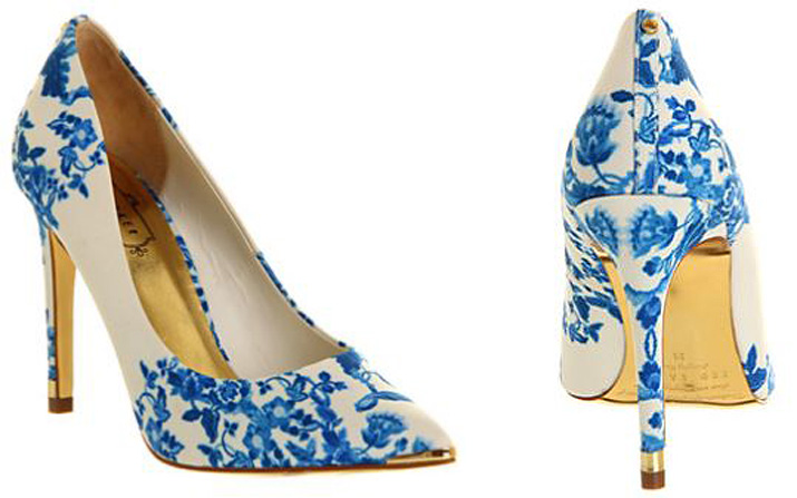 Ted Baker Luceey floral heels