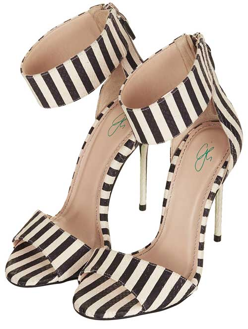 CJG Malibu stripe sandals
