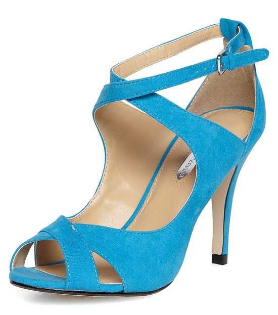 Doorthy Perkins blue strappy sandals