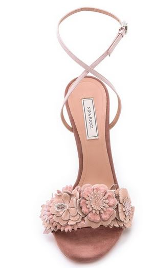 Nina Ricci flower sandals