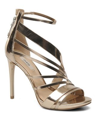 Guess Chiti gold strappy sandals