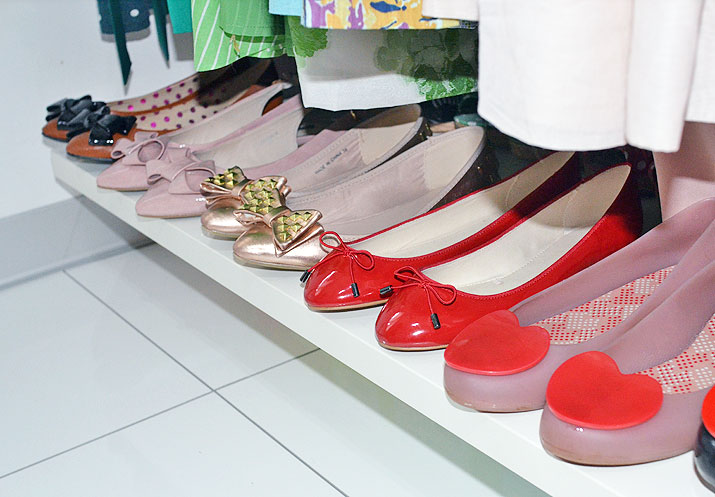 shoe storage for flats