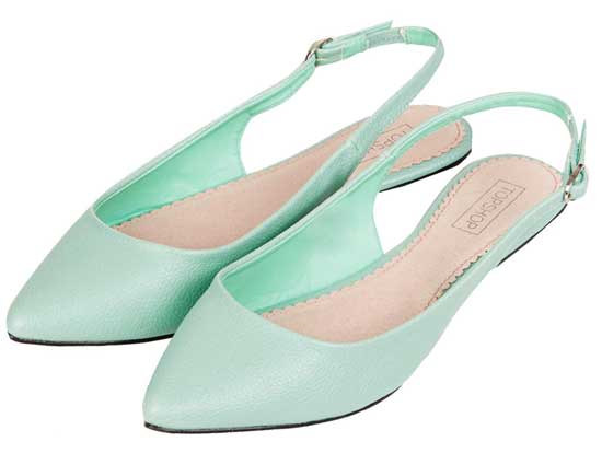 1365e7d01525 Topshop  Vixen  mint pointed slingbacks   Shoeperwoman