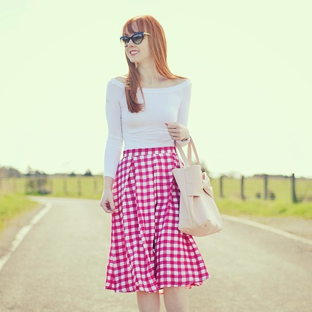 New post on ForeverAmber.co.uk! #gingham #retro #retrostyle #fashion #fashionblogger #ootd
