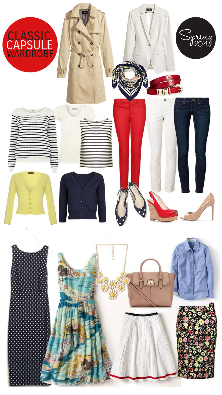 nautical-inspired capsule wardrobe: how to create 22 outfits with three pairs of shoes