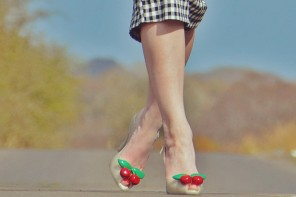 Vivienne Westwood for Melissa Lady Dragon Cherries shoes