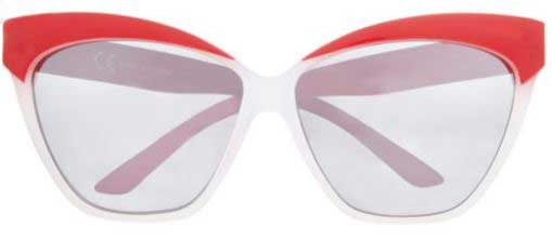 red winged sunglasses