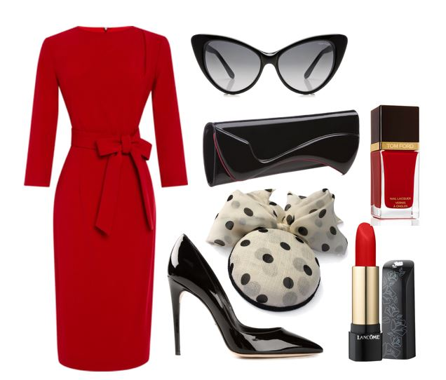 Dita Von teese inspired outfit