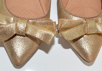 Found! The perfect gold flats