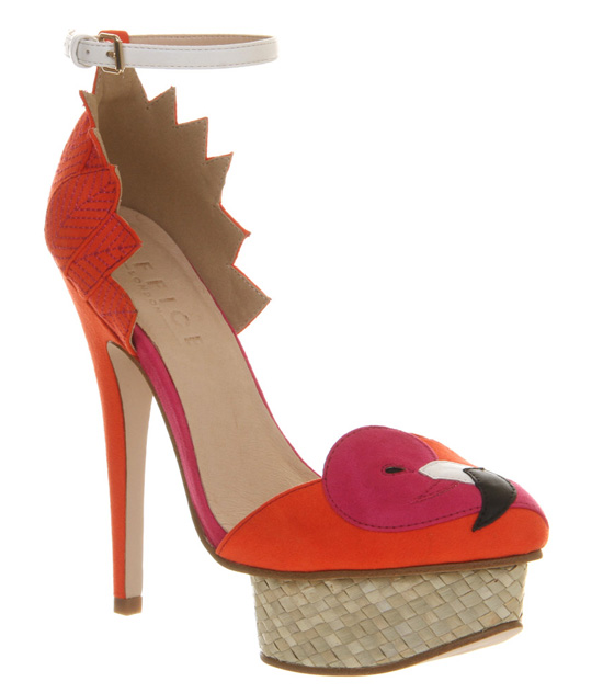 Office 'Jay-Bird' flamingo platforms