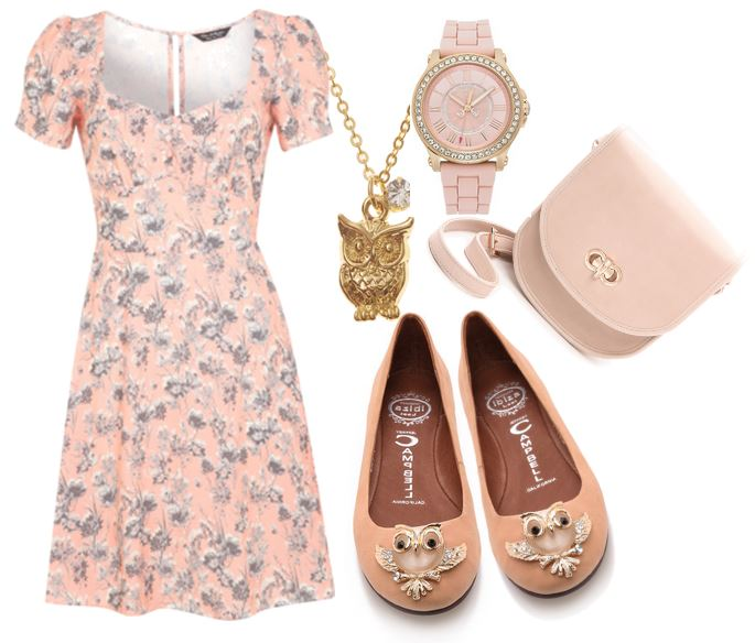 what to wear with owl flats