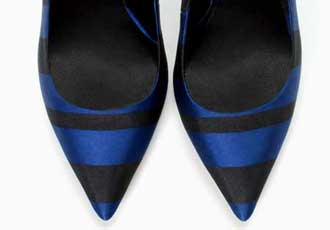 zara stripe shoes