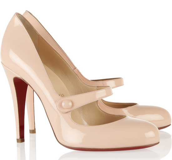 louboutin mary jane pumps