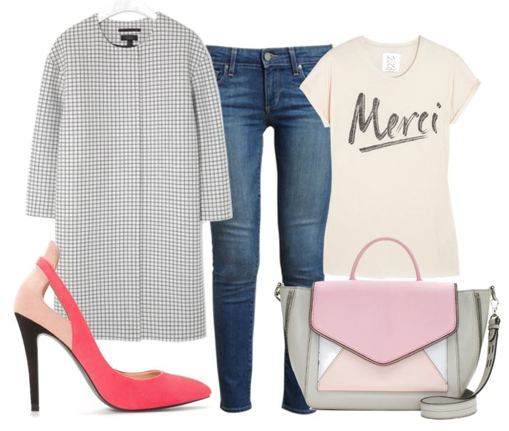 what o wear with pink zara shoes