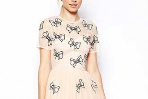 ASOS bow dress