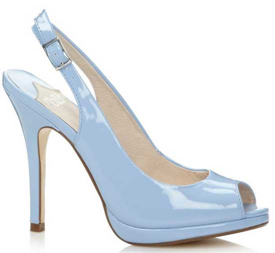 baby blue slingback shoes