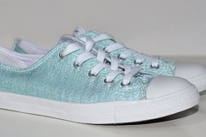 Shoe Review | Converse All Star Dainty Sparkle Ox in mint