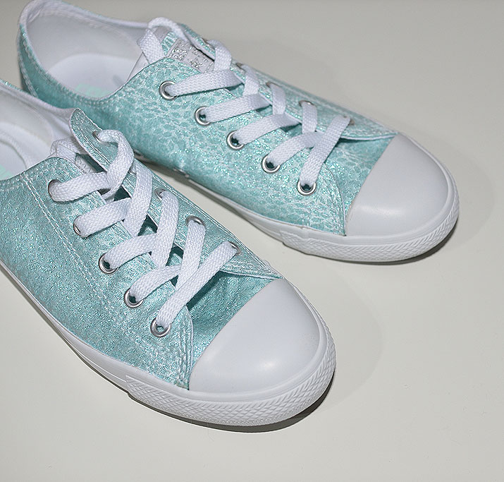 Converse All Star Dainty Sparkle Ox in mint