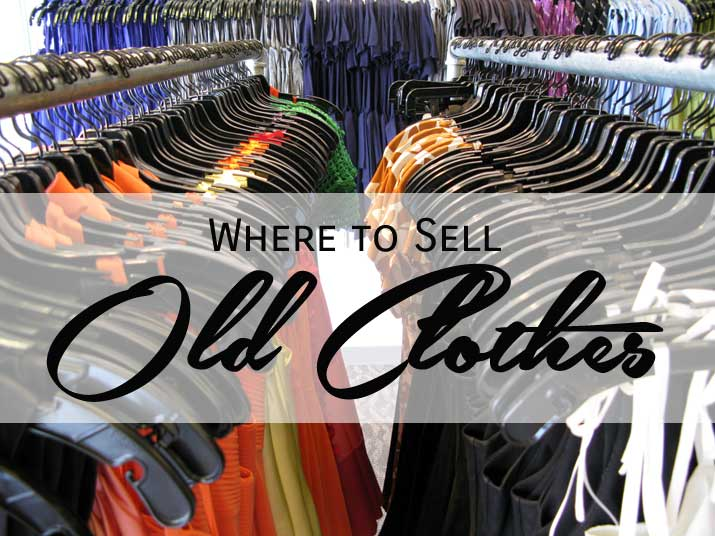 where to sell old clothes