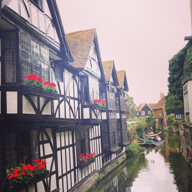 Having a walk round #Canterbury... #england