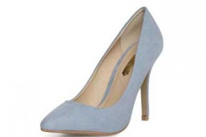 Dorothy Perkins Pale Blue Pointed Court Shoes