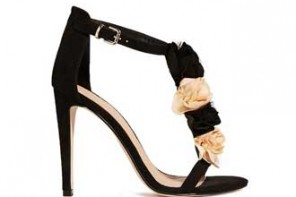 ASOS 'Holly' flower-trimmed sandals