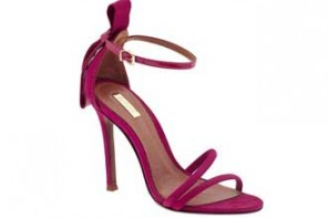 Schutz 'Nelly' pink barely-there sandals