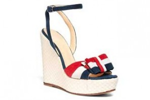 Brooks Brothers nautical bow wedges