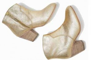 Shoeper Sale Alert | Boden 'Boho' boots in gold