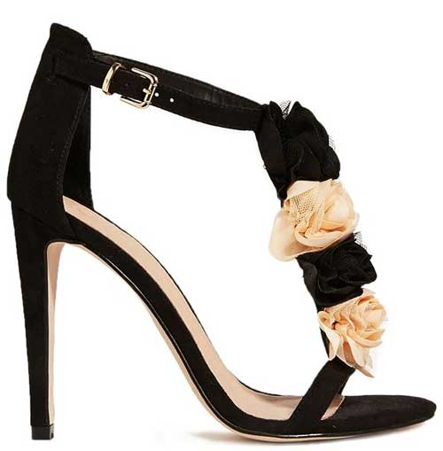 ASOS Holly flower sandals