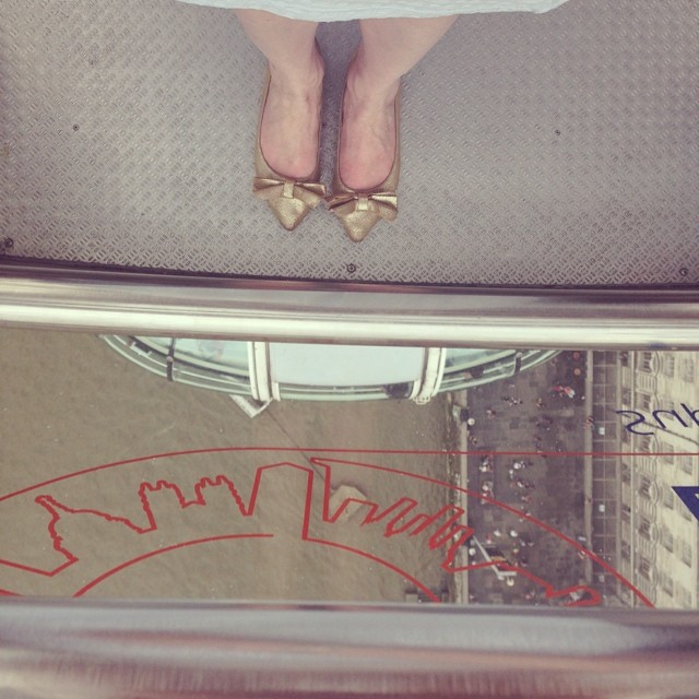 London eye #shoeshot! #london #londoneye