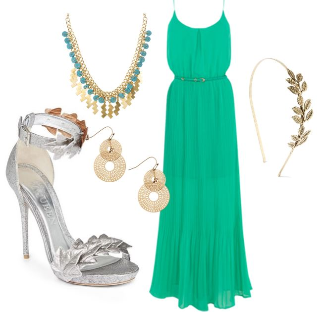 grecian inspired outfit