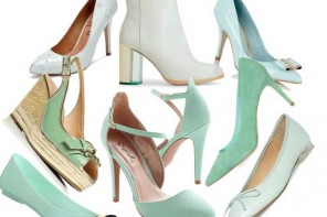 Mint green shoes | A roundup